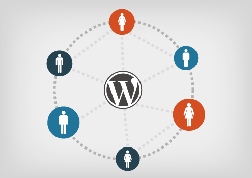 wordpress connecting people